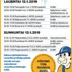 Tammikuun remonttinäyttelyt 12.-13.1.2019